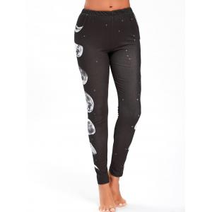 Halloween Moon Phased Leggings -