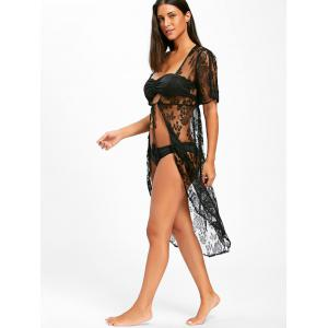 Lace Midi Swimwear Cover Up -