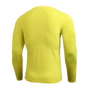 Quick Dry Fitted Gym Long Sleeve T-shirt -