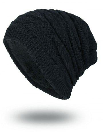 Outfits Soft Stacking Stripe Baggy Knitted Beanie