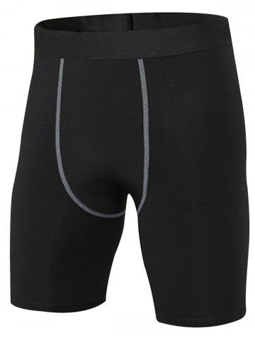 Sale Quick Dry Stretchy Fitted Fitness Jammer Shorts