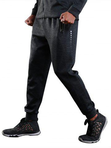 Sports Casual Zip Pocket Jogher Pants