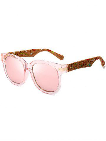 Shops Full Frame Design Marble Grain Legs Mirror Sunglasses