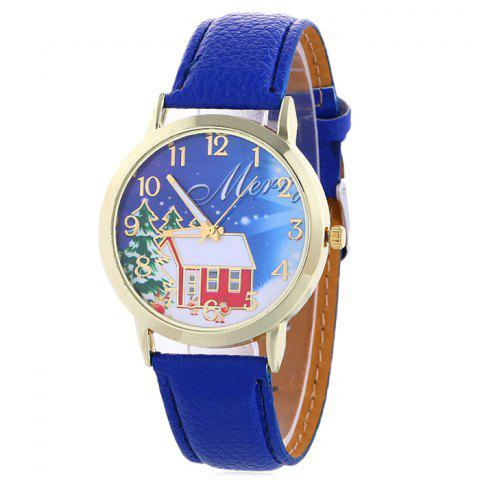 Best Christmas Tree House Face Quartz Watch
