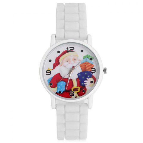 Fancy Christmas Santa Gift Face Silicone Watch