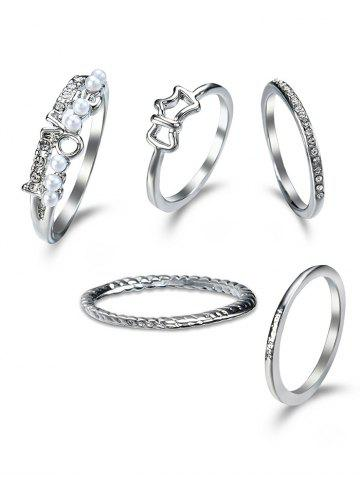 Ensemble Ring Ring Argent