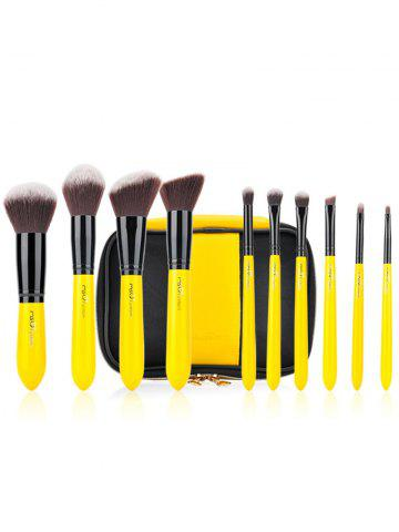 Ensemble de brosse 10pcs Two Tones Make Up