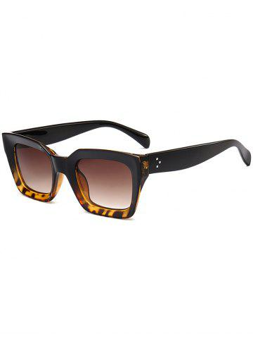 Protection UV Extérieure Full Frame Square Sunglasses