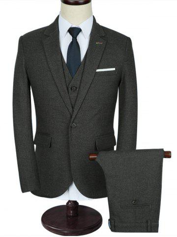 Chic Slim Fit Classic Three-piece Business Suit