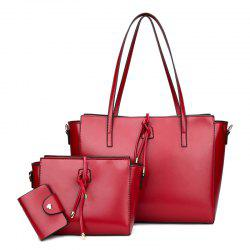 String 3 Pieces Shoulder Bag Set -