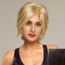 Short Side Parting Shaggy Straight Lace Front Hair Hair Wig -