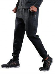 Sports Casual Zip Pocket Jogher Pants -