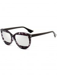 Eyebrow Embellished Cat Eye Sunglasses -