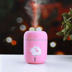 Mini USB Chamomile Air Humidifier with Color Change LED Lamp -