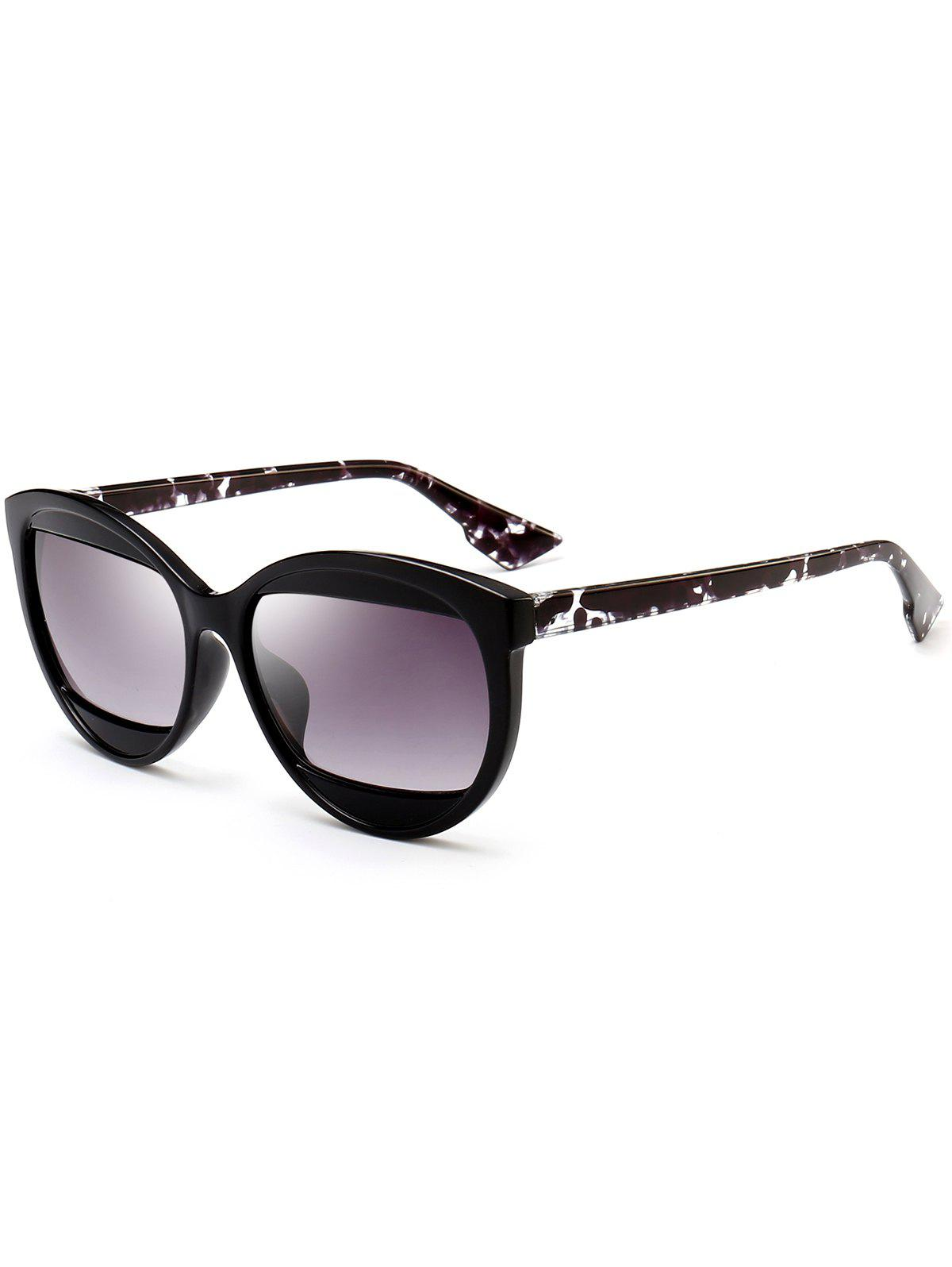 Fashion Eyebrow Embellished Cat Eye Sunglasses