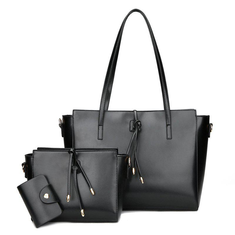 Store String 3 Pieces Shoulder Bag Set