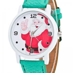 Christmas Santa Claus Face Quartz Watch -