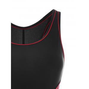 Maillot de bain sportif One Piece Plus Size -