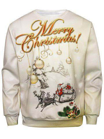 Hot Christmas Graphic Pullover Sweatshirt