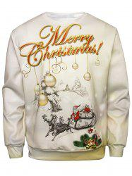 Christmas Graphic Pullover Sweatshirt -