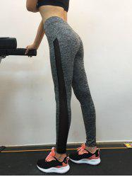 High Waist Fitted Sport Leggings -