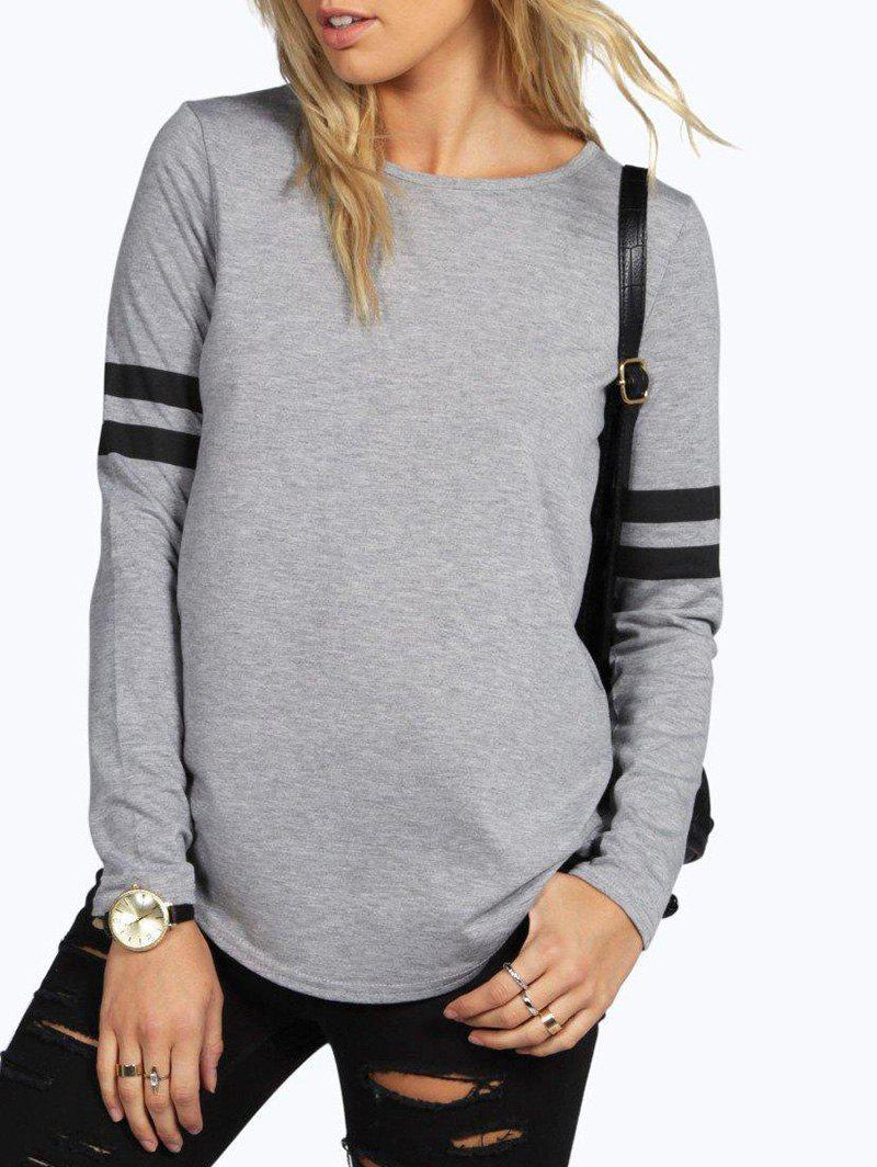 Store Round Neck T-shirt with Sleeves