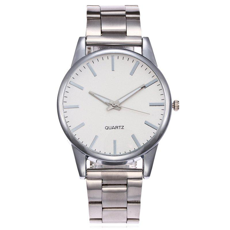 Shop Alloy Strap Minimalist Analog Watch