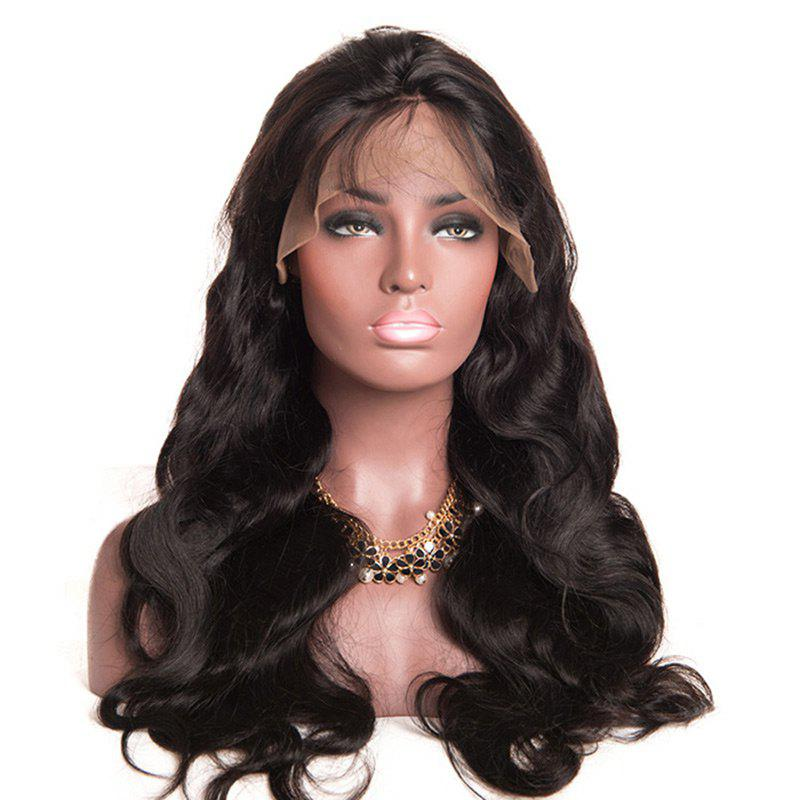 Outfits Free Part Bouffant Long Body Wave Lace Front Synthetic Wig
