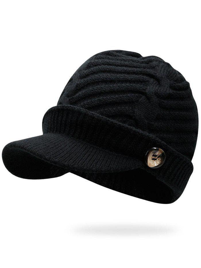 Mix Color Cable Knit Military HatACCESSORIES<br><br>Color: BLACK; Hat Type: Military Hats; Group: Adult; Gender: Unisex; Style: Fashion; Pattern Type: Others; Material: Acrylic; Circumference (CM): 57CM; Weight: 0.2000kg; Package Contents: 1 x Hat;
