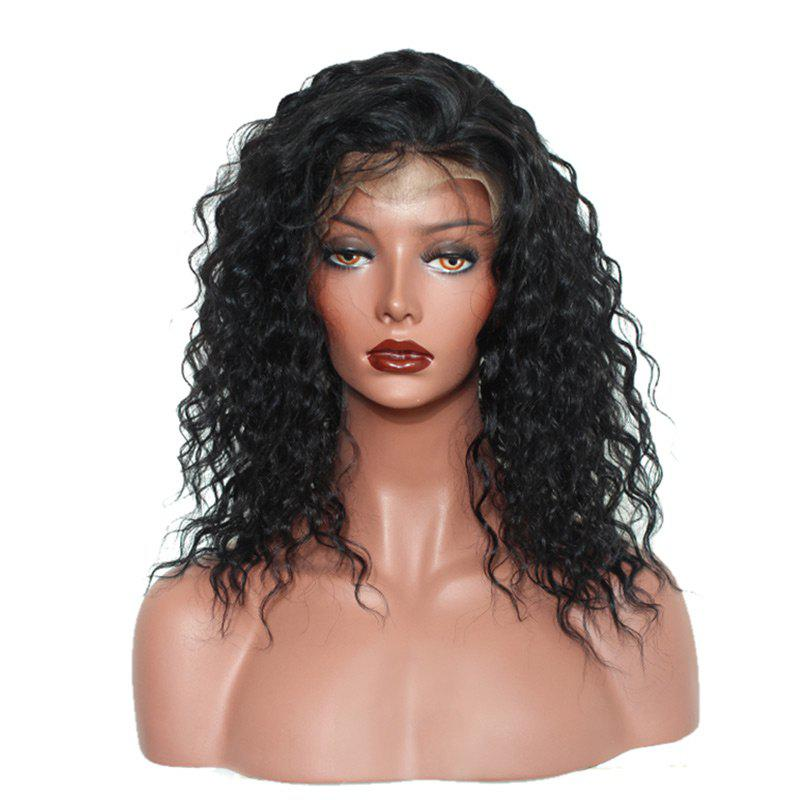 Trendy Long Free Part Fluffy Loose Curly Synthetic Lace Front Wig