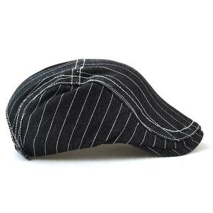 Letter Pattern Denim Newsboy Hat -