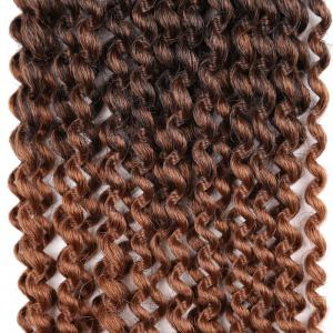 Long Synthetic Afro Kinky Princess Curl Braids Hair Weave -