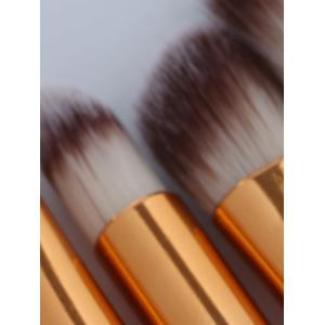 6 Pieces Slim Handle Eyes Brush Set -