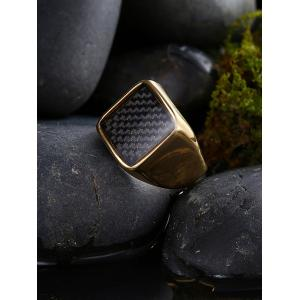 Geometric Antique Finger Ring - GOLDEN 10