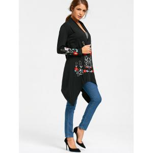 Embroidered Tunic Cardigan -