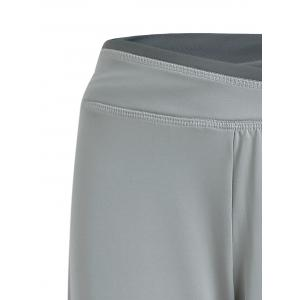 Wide Leg Beach Cover Up Pants - GRAY S
