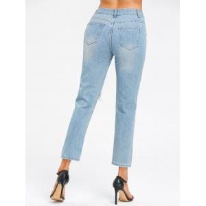 Ninth Cut Out Jeans -