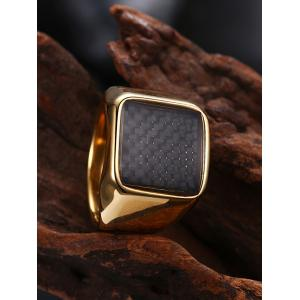 Geometric Antique Finger Ring -