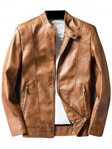 Light Brown Leather Jacket Cheap Shop Fashion Style With Free ...