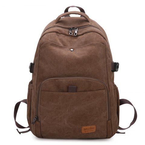 Affordable Rivet Buckle Strap Backpack