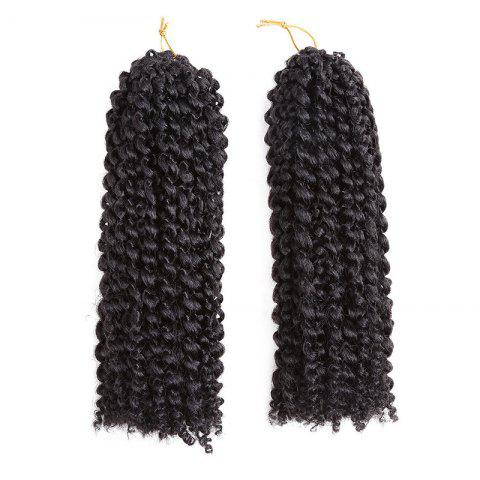 Buy 2Pcs Short Mali Bob Twisted Crochet Braids Synthetic Hair Weaves