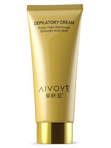 Easy Permanent Hair Removal AIVOYE Depilatory Cream