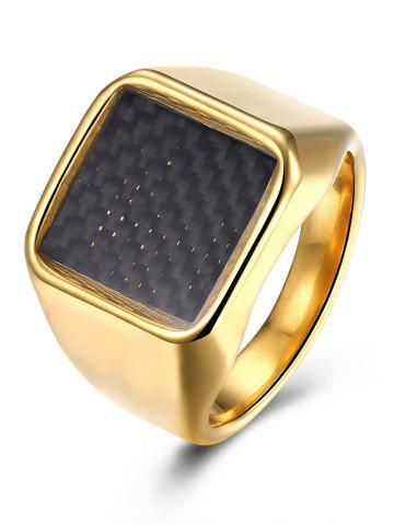 Shop Geometric Antique Finger Ring GOLDEN 10