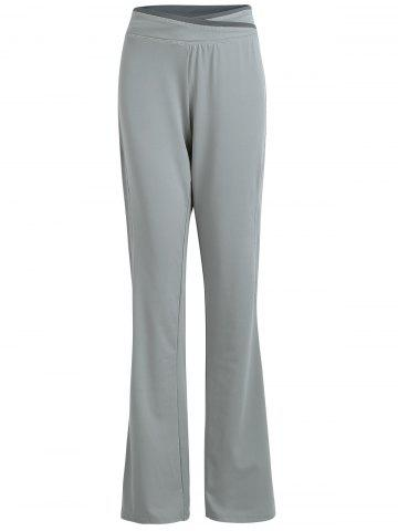 Outfits Wide Leg Beach Cover Up Pants GRAY S