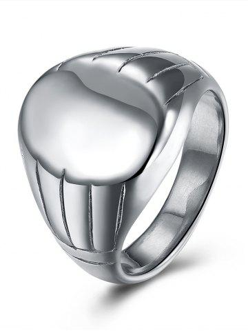 Discount Engraved Claw Oval Finger Ring