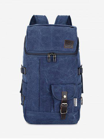Fashion Buckle Straps School Backpack