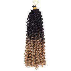 Medium Fluffy Pre Twisted Flashy Curl Synthétique Tresses Cheveux Tissage -