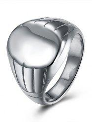 Engraved Claw Oval Finger Ring -