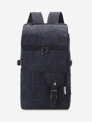 Buckle Straps School Backpack -