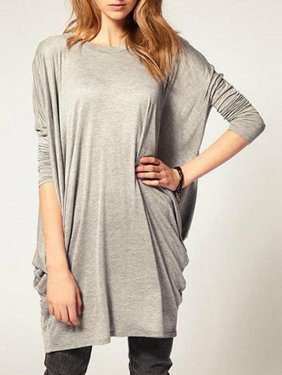 Outfit Batwing Sleeve Oversize T Shirt